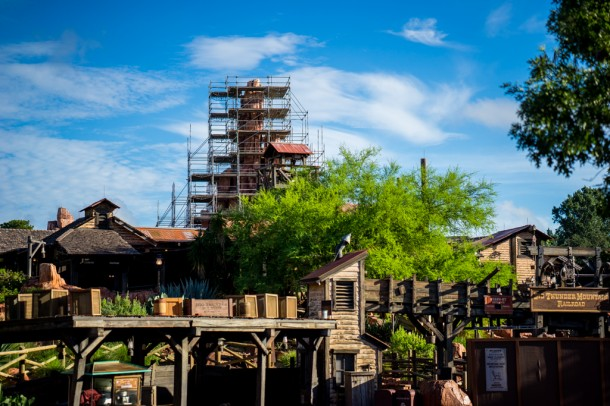 Big Thunder Mountain closed recently for a lengthy refurbishment.