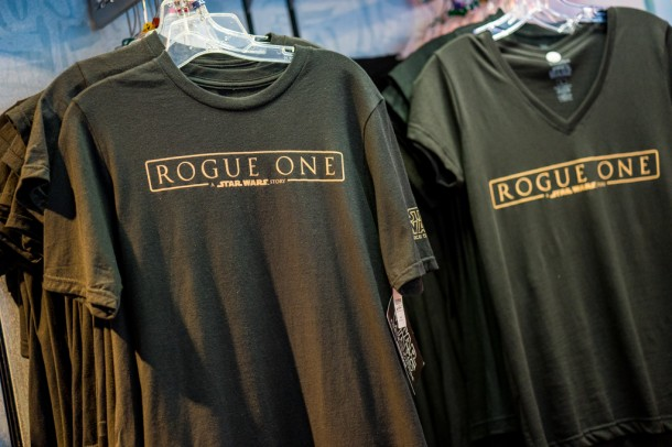 As well as Rogue One t-shirts. Anyone catch the killer trailer that came out last week?