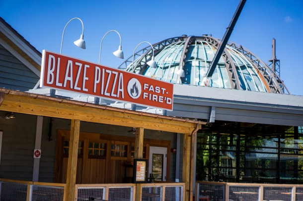 Blaze Pizza is also now open, and promises custom pizza in 180 seconds.