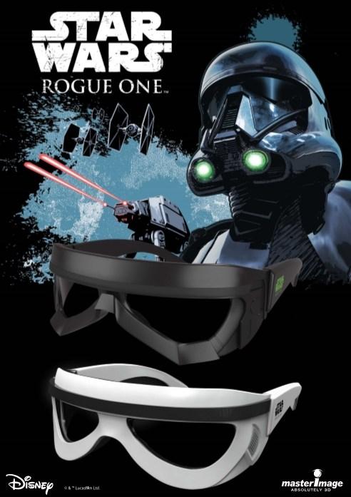 Rogue 1 3D Glasses