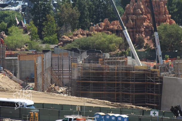 This maze will house the Fantasmic backstage.