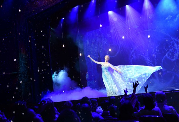 Frozen Musical on the Disney Wonder