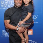 J.R.Martinez and daughter