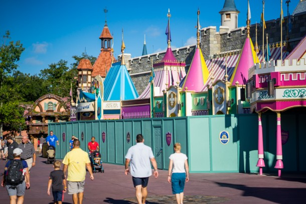 it's a small world is currently closed for refurbishment.