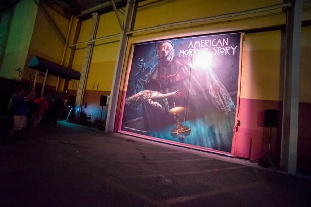 American Horror Story takes place in the largest soundstage this year. We have a video below.