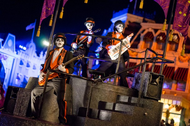 Haunted Mansion band.