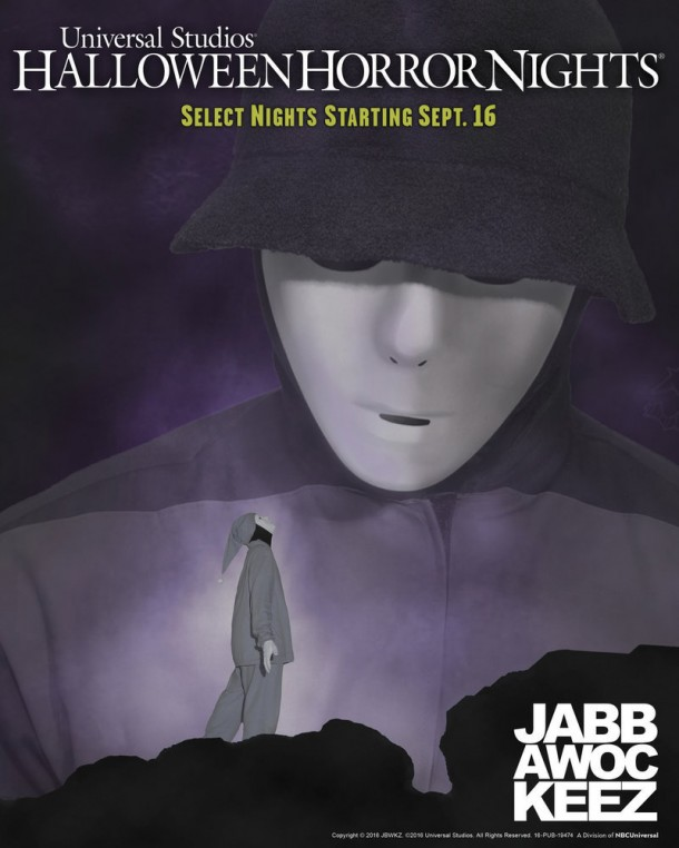 """UNIVERSAL STUDIOS HOLLYWOOD — """"Universal Studios Halloween Horror Nights"""" — Pictured: Global Phenomenon and Multi-Talented Hip Hop Dance Crew, Jabbawockeez, Returns to Universal Studios Hollywood with an All-New Performance at this Year's """"Halloween Horror Nights,"""" Beginning Friday, September 16 — (Photo by: Universal Studios Hollywood)"""