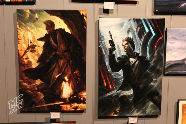 """Silent Guardian"" & ""Ahead of the Odds"" by Raymond Swanland"