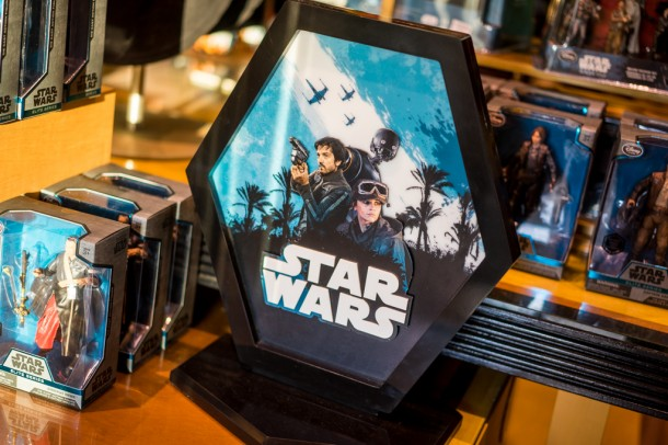 Rogue One merchandise has arrived at the parks.