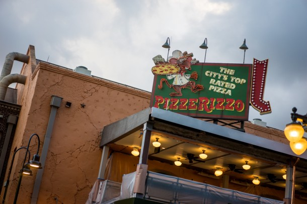 Pizzerizzo is moving right along towards an opening date that will hopefully be soon.