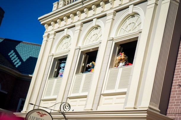 The new Muppets streetmosphere show in Liberty Square is very cute.