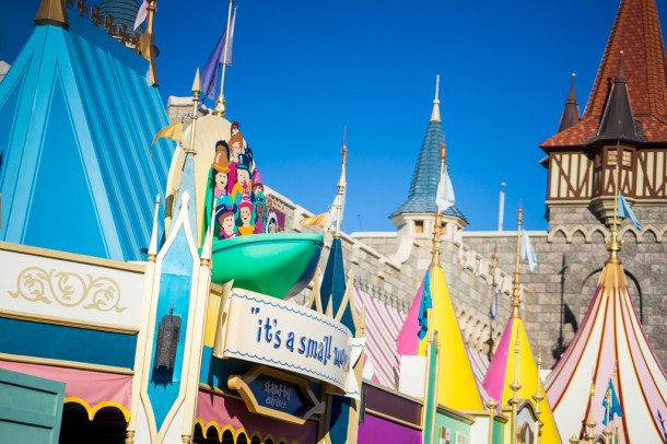 it's a small world is back open after its refurbishment.