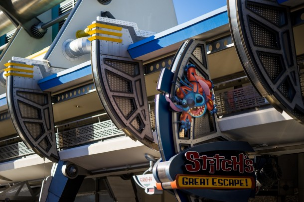Stitch's Great Escape is now running on a seasonal capacity. Probably could have used it on a busy day.
