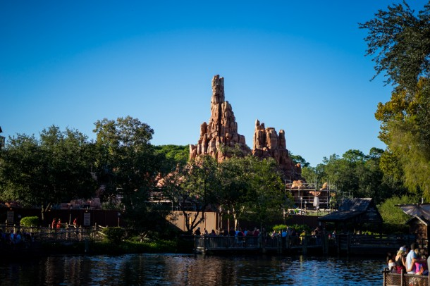 Big Thunder Mountain has lost most of its scaffolding, but it is still closed for refurbishment as well.