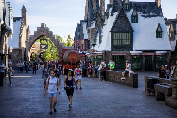 An empty Hogsmeade is worth waking up for.