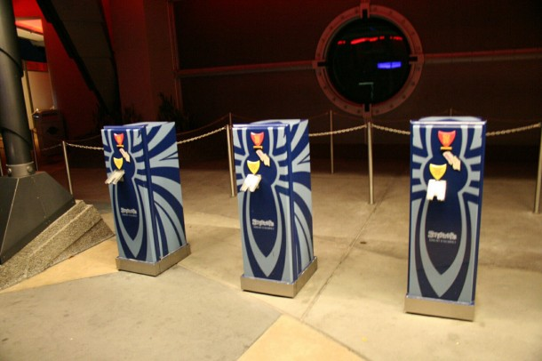 There used to be FASTPASS machines for the attraction.