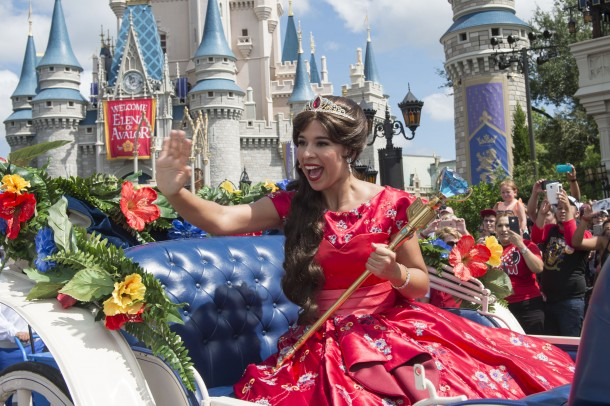 Elena of Avalor debuted at Walt Disney World earlier this year.