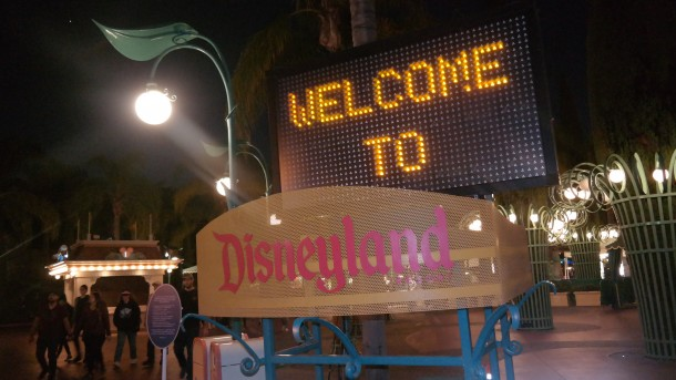 Welcome to Disneyland