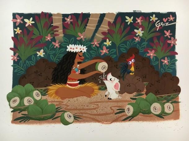 Coconut Harvest by Griselda Sastrawinata Lemay