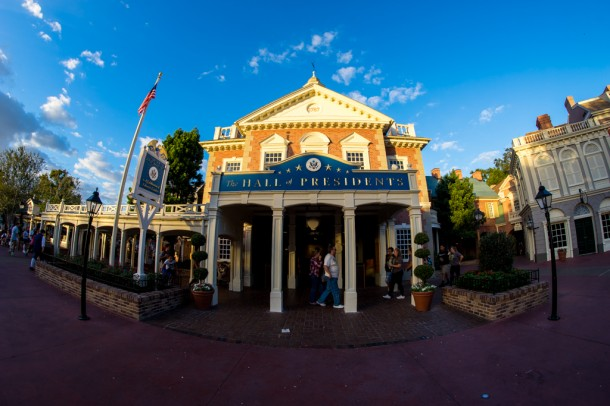 Hall of Presidents will be closing soon to add the new President AA to the bunch.