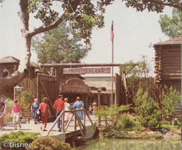 The Wild West was just across this bridge - Frontierland