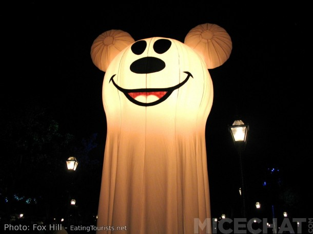 """Ghost Light"" Mickey - Don't tell Mater!"