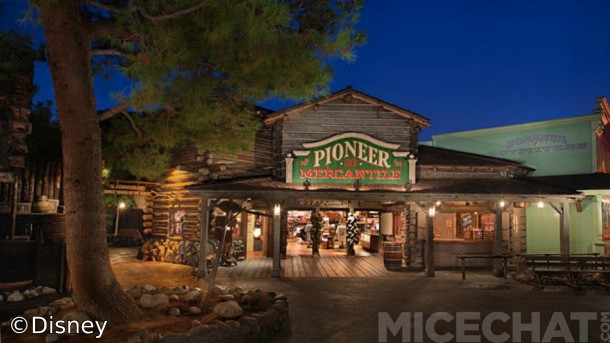 "Today's ""Pioneer Mercantile"" - Same spot, different merchandise :("