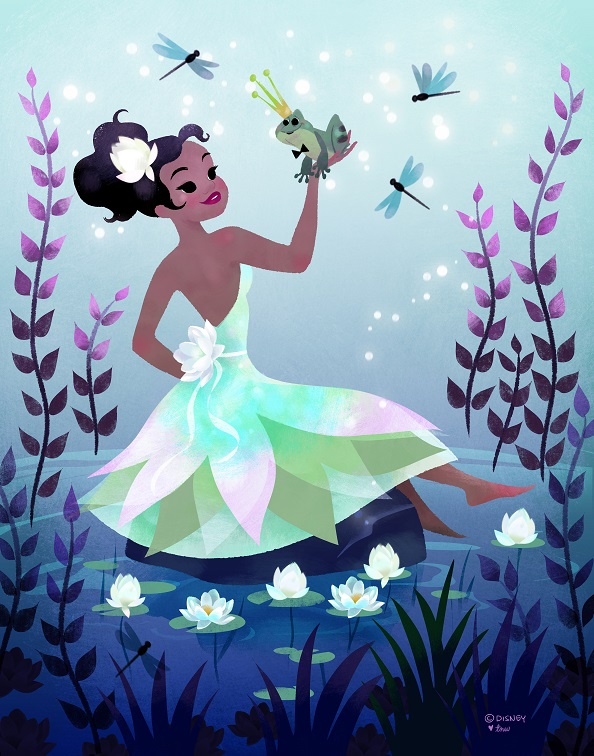 Princess Tiana by Tara Nicole Whitaker