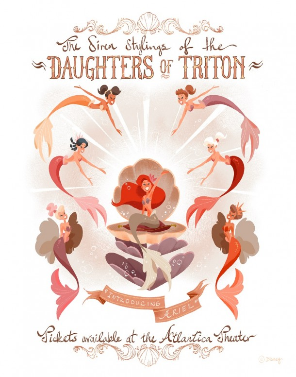 The Daughters of Triton by Phillip Light