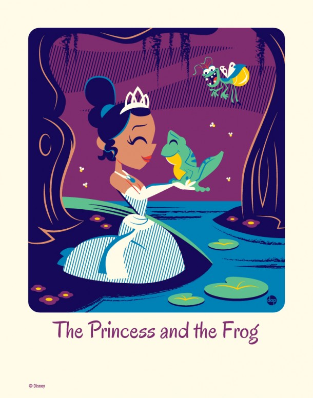 The Princess and the Frog by Dave Perillo