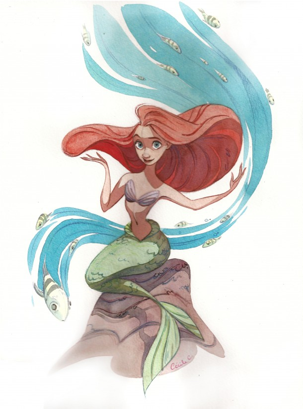 Under the Sea by Cecile Carre
