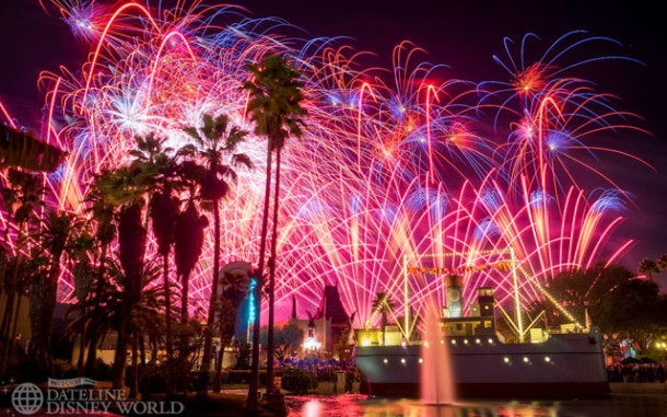 Star Wars fireworks were the nighttime story at DHS.