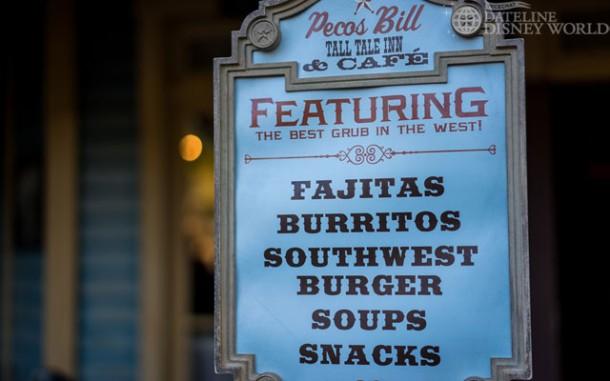 Pecos Bill Cafe dramatically changed its menu, shying away from the traditional burgers and chicken fingers.