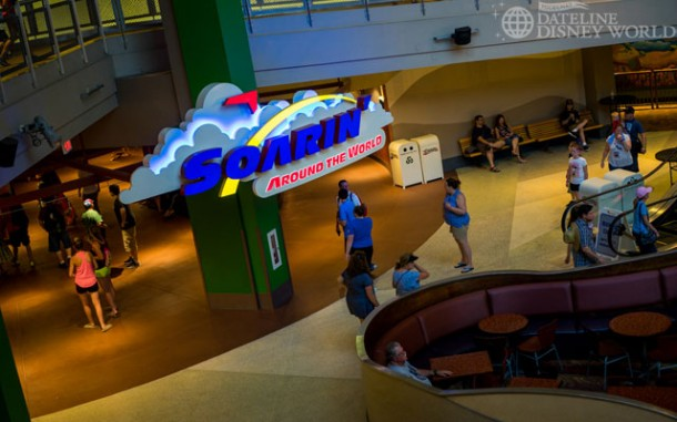 Soarin' Around the World opened, along with higher capacity due to a third theater being added.