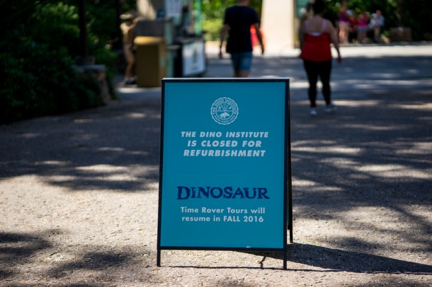 Dinosaur went down for a VERY extensive refurbishment that took several months.