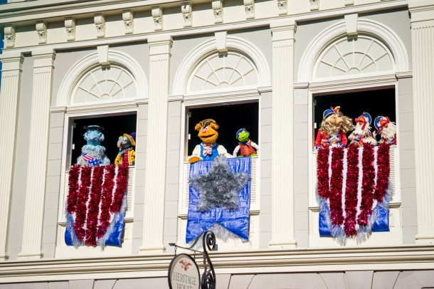 In what is possibly the best addition to the parks this year, the Muppets took over Liberty Square with a hilarious and educational show about American history.