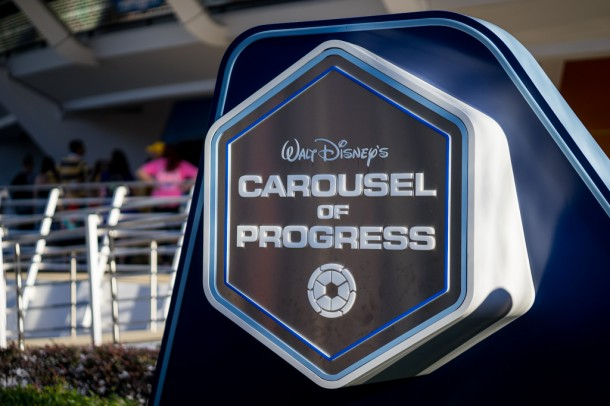 Carousel of Progress got an awesome new sign.