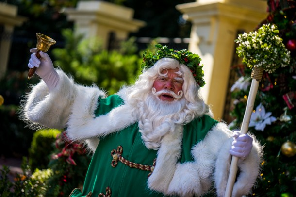 Holidays Around the World brought the season to Epcot.
