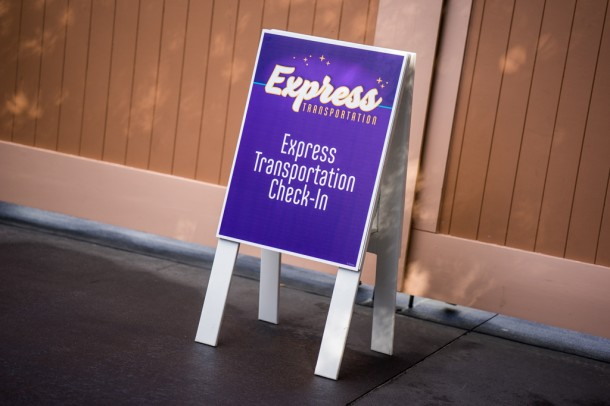 Disney introduced another money making venture in Express Transportation.