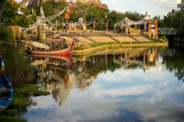 It is true, Rivers of Light has played before Cast Members for previews.