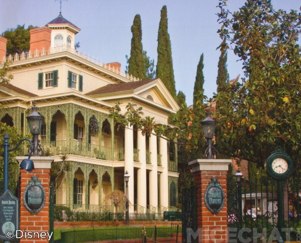 The Haunted Mansion is replete with effects and elements designed by Rolly