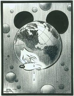 Karl Hubenthal Walt Disney Globe