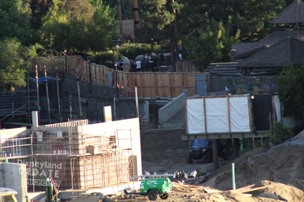 Next to the Hungry Bear Restaurant a pathway to SWL is being built along the river.