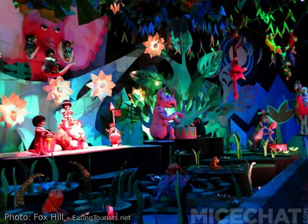 Mary Blair may have designed the dolls, but the incredible toys populating It's A Small World were Rolly's project.