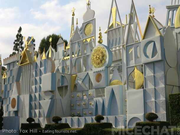 Without Rolly, we wouldn't have the beautiful and kinetic facade of It's A Small World. He's almost completely responsible for it's final form.