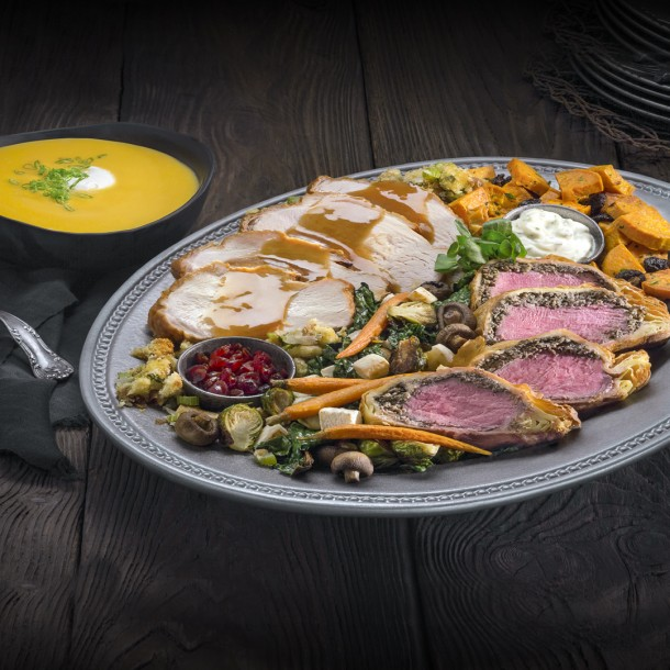 Universal-Holiday Feast at Three Broomsticks - WWoHP at USH