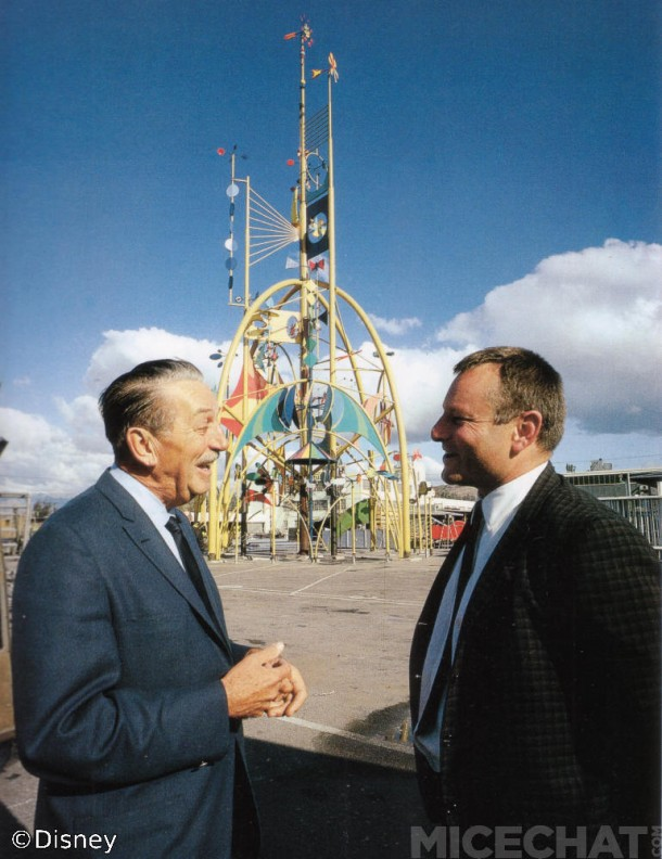 Walt and Rolly at the 1964-65 World's Fair