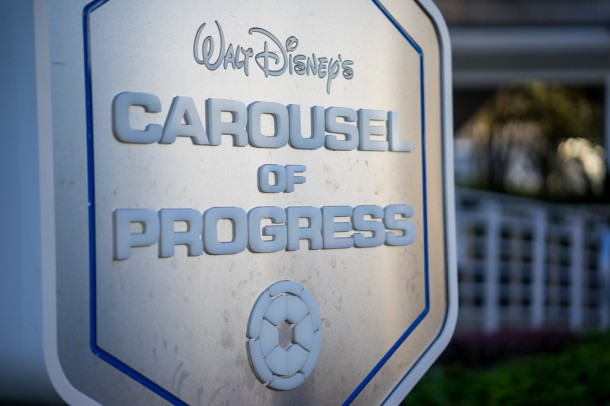 Update - Carousel of Progress sign is still awesome.