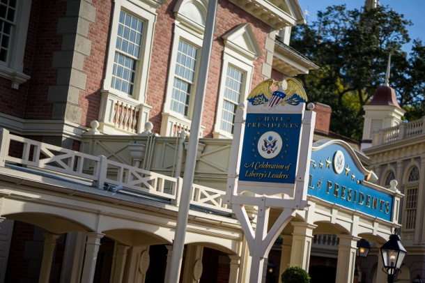 One has to imagine that Hall of Presidents will be closing soon for a Donald Trump AA.