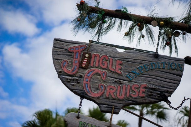 Jingle Cruise is still running for now.